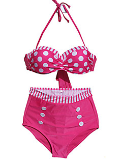 Damen Bikini - Punkt / Retro Nylon / Elasthan Halfter