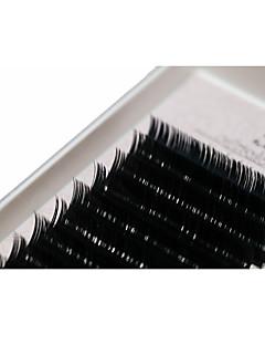 A box has 12 rows of eyelashes szempilla Szempilla Szálas műszempilla Eyes / Szempilla Vastag Megnövelt / Dúsított Kézzel készített Others