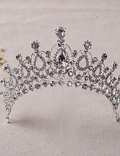 Dame Rhinestone / Legering Headpiece-Bryllup / Spesiell Leilighet Diademer 1 Deler