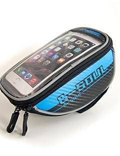 B-SOUL® Bike Bag 1.5LLCell Phone Bag / Bike Frame Bag / Bike Handlebar BagWaterproof / Waterproof Zipper / Reflective Strip /