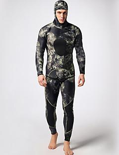 MYLEGEND Men's Diving Suits / Wetsuits Diving Suit Waterproof / Wearable / Thermal / Warm / YKK Zipper Wetsuits 3 to 3.4 mm BlackS / M /