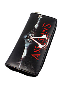 Bag / Wallets Inspired by Assassin's Creed Cosplay Anime Cosplay Accessories Wallet Black Nylon Male / Female