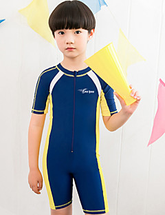 Boy's Polyester Swimwear,Summer Patchwork