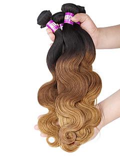 Ombre Brasilianisches Haar Große Wellen 12 Monate 4 Stück Haar webt