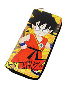 Bag / Wallets Inspired by Dragon Ball Cosplay Anime Cosplay Accessories Wallet Black Nylon Male / Female