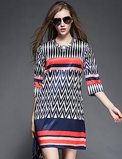 De maxlindy vrouwen vintage uitgaan / partij / verfijnd a lijn jurk