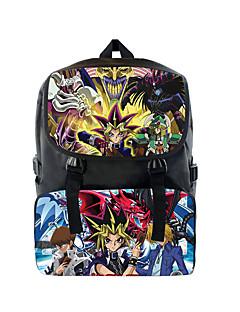 Bag Inspired by Yu-Gi-Oh Cosplay Anime Cosplay Accessories Bag / Backpack Black Nylon Male / Female