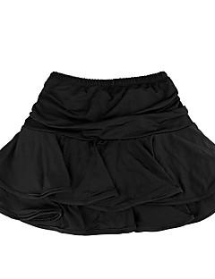 Czy będziemy latin dance tutus& Spódnice dzieci szkolenia włókno mleczne ruffles dzieci latindance sukienka