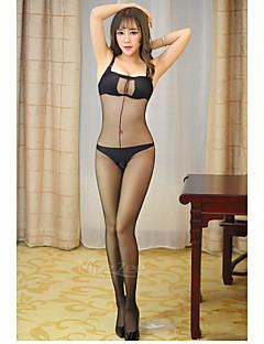 Vrouw-Katoen-Kanten lingerie-Nachtkleding