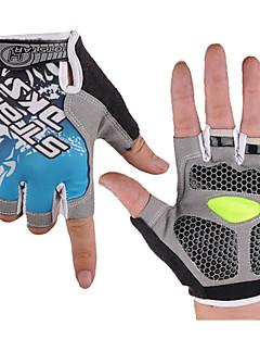 Sport Cykel/Cykling Handsker Dame / Herre / Unisex Påførelig / 3D Måtte / Stødsikker / Ultralet stof LYCRA® Gul / Rød / Blå M / L / XL