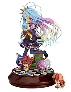 No Game No Life Shiro 20CM Anime Action Figures Model Toys Doll Toy(without 4 Little Figures)