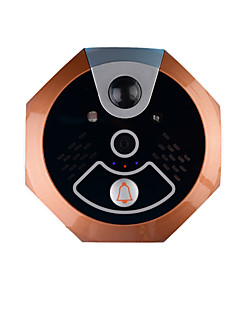 Mato Wifi Doorbell with An Indoor Doorbell for iPhone IOS Android System Mobile Phone Tablet Home Security