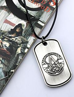 Κοσμήματα Εμπνευσμένη από Assassin's Creed Cosplay Anime/ Βιντεοπαιχνίδια Αξεσουάρ για Στολές Ηρώων Κολιέ Ασημί Κράμα Ανδρικά / Γυναικεία