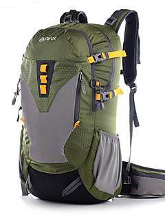 40L L Pacotes de Mochilas Acampar e Caminhar Ao ar Livre Á Prova-de-Água / Seca Rapidamente / Vestível Verde / Azul / Verde Escuro