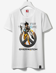 Inspired by Overwatch Tracer  Cotton T-shirt