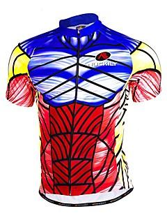 Sports Cycling Jersey Men's Short Sleeve Bike Breathable / Sweat-wicking Jersey + Shorts / Tops / Bottoms Terylene / Tactel / Chinlon Slim