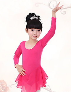 Shall We Ballet Dresses Children Training Pleated 1 Piece Kid Dance Costumes