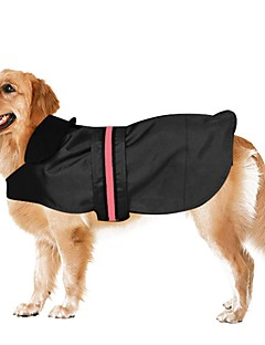 Waterproof Blue/Black/Coffee Nylon Led Luminous Clothes for Pets Dogs  Dog Jacket Dog Coat