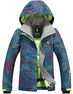 Ski Wear Ski/Snowboard Jackets Women's Winter Wear Polyester Winter Clothing Waterproof / Thermal / Warm / Windproof / WearableCamping /