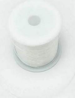 80m / tekercs fehér elasztikus sort diy gyöngyös zsinór hal sport ékszerek