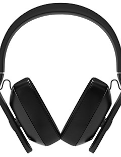 1More® Headset /Tablet/Mobile Phone/ComputerWithWith Microphone/Volume Control/FM Radio/Sports/Hi-Fi (Black/Red)
