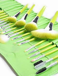 24 Set di pennelli Capelli sintetici Portatile Legno Viso Altro