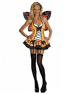Costumi Cosplay / Vestito da Serata Elegante Fantasia animale / Angelo e diavolo Feste/vacanze Costumi Halloween Rosso / Nero / Giallo