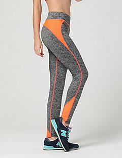 מכנסיים יוגה מכנסיים נושם / דחיסה טבעי מתיחה בגדי ספורט שחור לנשים ספורטיבי יוגה