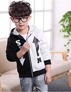 Boy's Casual/Daily Print Hoodie & Sweatshirt,Cotton Spring / Fall Green / Gray