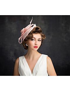 Damen Flachs / Netz Kopfschmuck-Besondere Anlässe Kopfschmuck 1 Stück Klar Unregelmässig 25