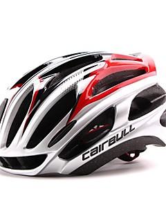 Capacete(Branco / Verde / Vermelho / Preto / Azul,PC / EPS) -Esportes-Unisexo 24 Aberturas Ciclismo / Ciclismo de Montanha