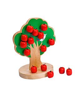 jouets magnétiques d'arbres en bois, bébé mélangés, jouets éducatifs pour enfants