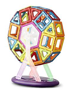 magneettinen lohkot, alati muuttuvassa nostokappaleilla, magneettinen palapeli lelut magneettinen pala puku, 166 kpl