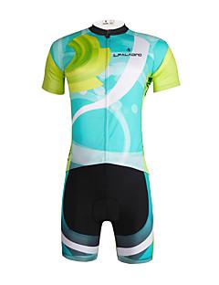 PALADIN® חולצת ג'רסי ומכנס קצר לרכיבה לגברים / יוניסקס שרוול קצר אופנייםנושם / ייבוש מהיר / עמיד אולטרה סגול / דחיסה / חומרים קלים / 3D