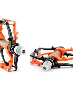 Fahhrad Pedale Radfahren/Fahhrad Praktisch Orange aleación de aluminio