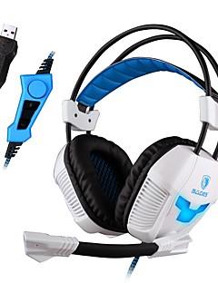 Sades A30S Cascos(cinta)ForReproductor Media/Tablet / ComputadorWithCon Micrófono / DJ / Control de volumen / Radio FM / De Videojuegos