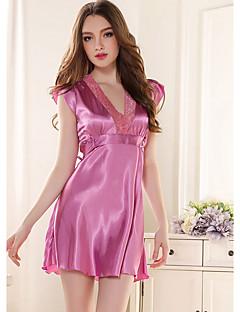 Girl & Nice® Dames Rayon Ochtendjassen-L2330