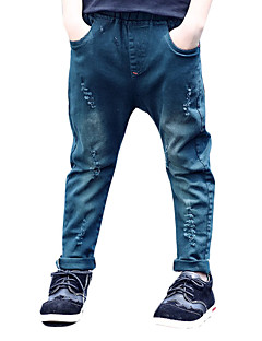 Boy's Casual/Daily Solid Pants,Others Winter / Fall Black / Green