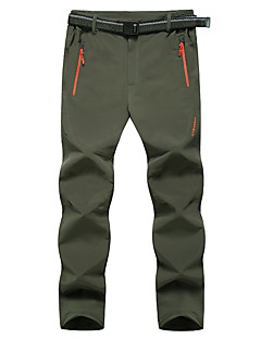 Outdoor Men's Bottoms Camping / Hiking / Cross-Country Waterproof / Wearable / Sunscreen / Thermal / Warm