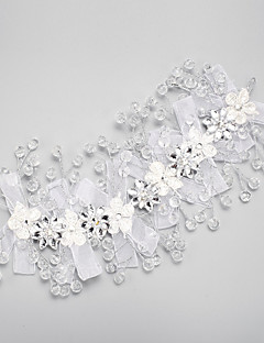 Women's Rhinestone / Crystal / Polyester Headpiece-Wedding / Special Occasion Headbands 1 Piece