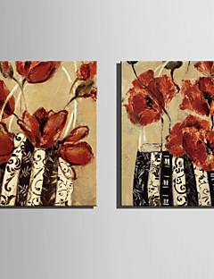 Vida Imóvel / Botânico Impressão em tela Dois Painéis Pronto para pendurar,Vertical