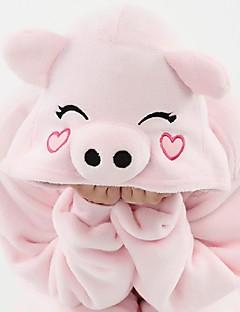 Kids Boys Girls Pajamas Autumn Winter Children Flannel Animal  Pink  cartoon Pajamas for Kids Sleepwear Halloween