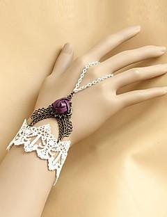 Classic & Traditional Lolita Lolita Accessories Bracelet/Bangle Pink Artificial Gemstones Lolita Accessories