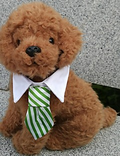 pejsky Vázanka/Motýlek Oblečení pro psy Léto Jaro/podzim Kostkovaný cosplay Dovolená Černá Kávová Červená Zelená vícebarevná