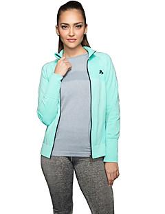 ספורטיבי®יוגה חולצה / Suit דחיסה / ג'קט / צמרות נושם / ייבוש מהיר / חלק מתיחה בגדי ספורט יוגה / פילאטיס / כושר גופני / ספורט פנאי / ריצה