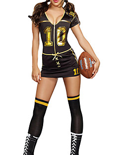 Women Sexy Football Cheerleader Uniform High School  Costumes