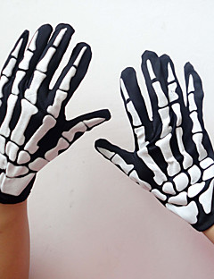 Gloves Black Terylene Cosplay Accessories Halloween / Carnival