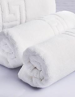 バスタオルセット ホワイト,ジャカード織 高品質 コットン100% タオル