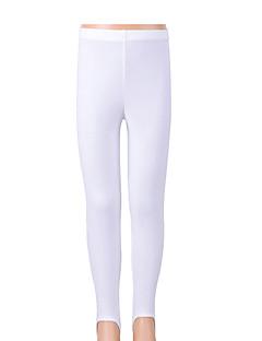 Dívky Nylon / Spandex Sportovní Jednobarevné Celoročně Kalhoty