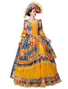 Steampunk@Gothic Lolita Gorgeous Retro Court Dress Costume Beauty Princess Dresses